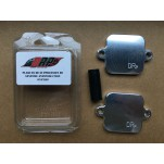Kit plaques suppression système anti-pollution pour Kawasaki ZX10R 2011-2015