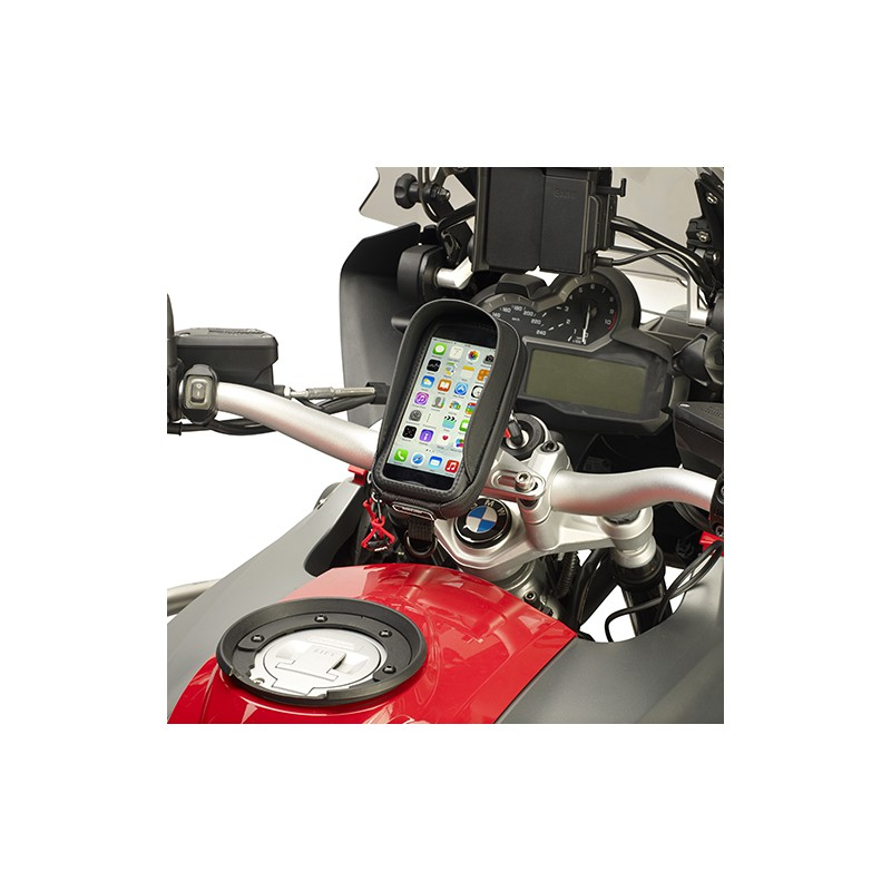 housse support smartphone universelle s956b givi compatible avec scooter moto et v lo tech2roo. Black Bedroom Furniture Sets. Home Design Ideas