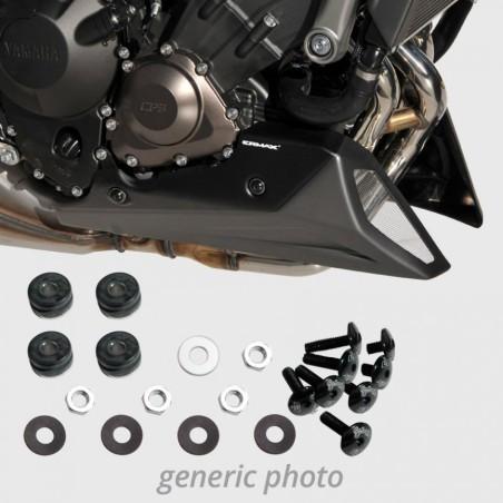 Kit de fixation seul pour sabot moteur Ermax - Yamaha MT09 et Tracer 900