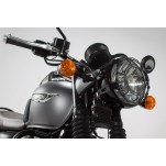 Protection de phare Grille. Noir. Bonneville T120 (15-)/Thruxton1200.