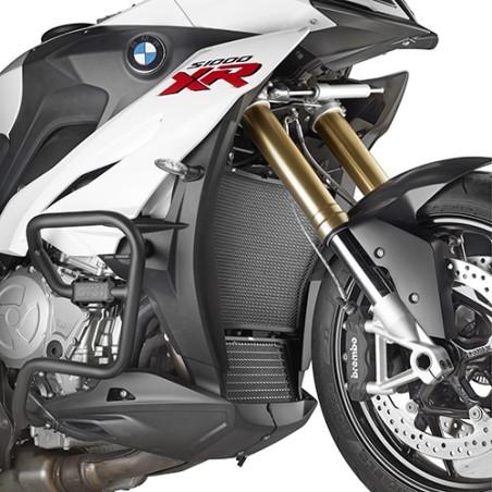 Grille de radiateur spécifique PR5119 GIVI en acier inox peinte en noire pour BMW S1000XR 2015 et +