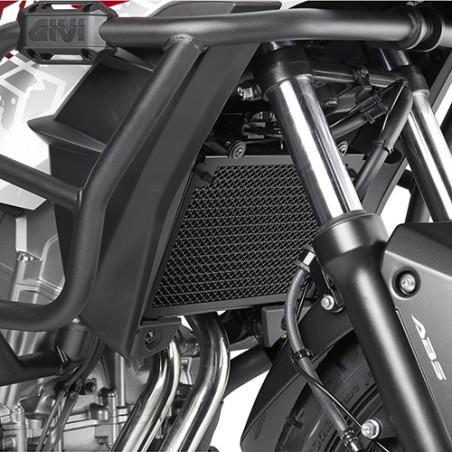 Grille de radiateur spécifique PR1121 GIVI en acier inox peinte en noire pour Honda CB500X 2016