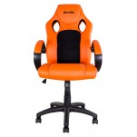 Fauteuil / Siège petit modèle type paddock aux couleurs orange KTM