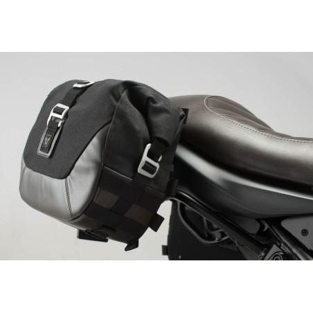 Legend Gear set de sacoches laterales et supports SW-MOTECH pour Suzuki SV650 2015 et +