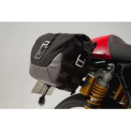 Legend Gear set de sacoches latérales et supports SW-MOTECH pour Triumph Thruxton 1200 2016 et +