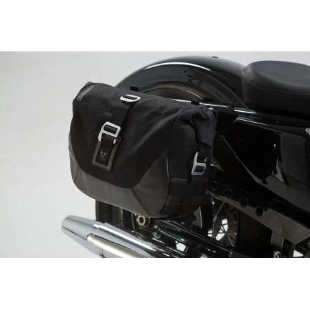 Legend Gear set de sacoches latérales et supports SW-MOTECH pour Harley Davidson Sportster modeles 2004 et +