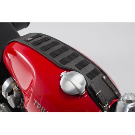 Legend Gear Sangle de reservoir SLA SW-MOTECH pour Triumph Bonneville T120 / StreetTwin / Thruxton.