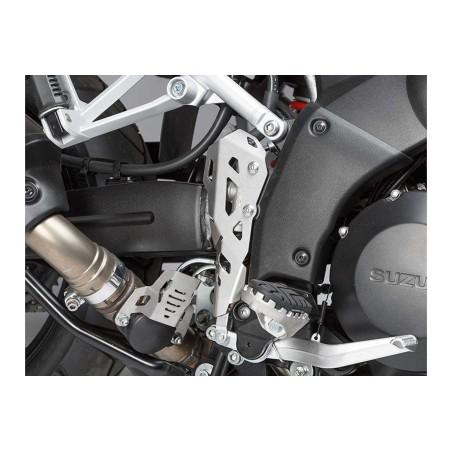 Protection de maître-cylindre de liquide de frein Gris. Suzuki V-Strom 1000 2014 et +