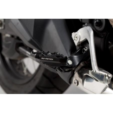 Extension de repose-pieds Noir. Honda CRF1000L Africa Twin 2015