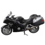 Support pour valise QUICK-LOCK EVO Noir. Honda CBR 1100 XX Blackrbird 1999-2006