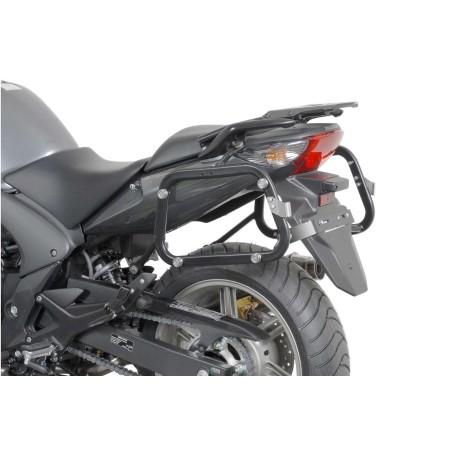 Support pour valise QUICK-LOCK EVO Noir. Honda CBF 600 2004 et +