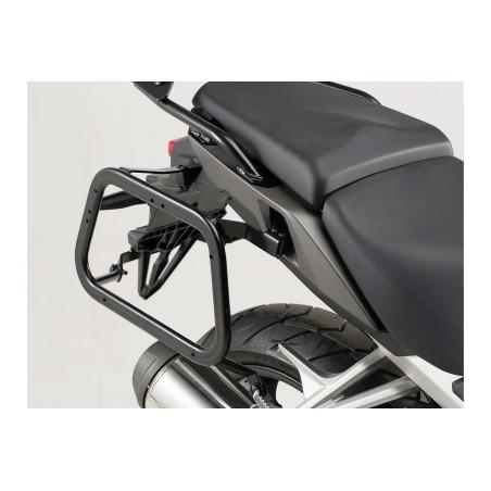 Support pour valise QUICK-LOCK EVO Noir. Honda VFR 800 X Crossrunner 2015 et +