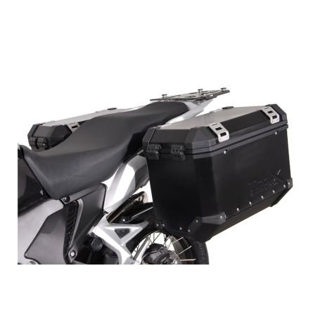 Support pour valise QUICK-LOCK EVO Noir. Honda VFR 1200 X Crosstourer 2012 et +