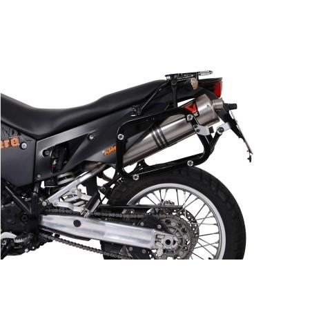 Kit de sacoches TRAX ADVENTURE Gris. 37/37 l. KTM 950 / 990 Adventure