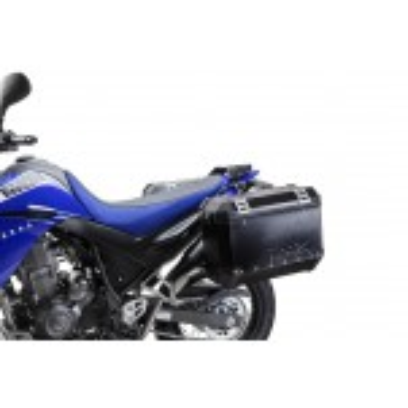 QUICK-LOCK EVO Support latéral Noir. Yamaha XT 660 X / R 2004-2009