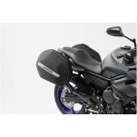 Kit valises laterales AERO ABS (avec support) ABS / 600 HCF Polyester. Yamaha XJ6 (13-).