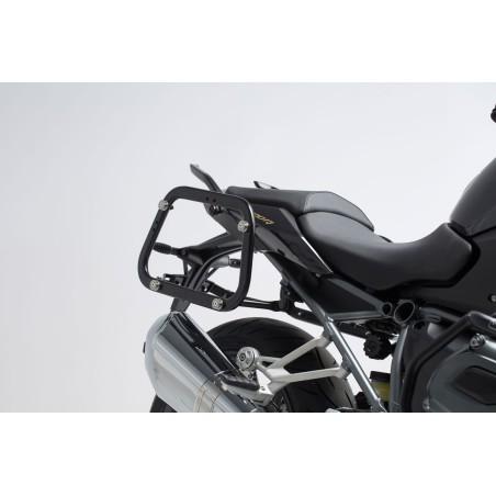 Support pour valise QUICK-LOCK EVO Noir. BMW R1200R / R1200RS 2015 et +