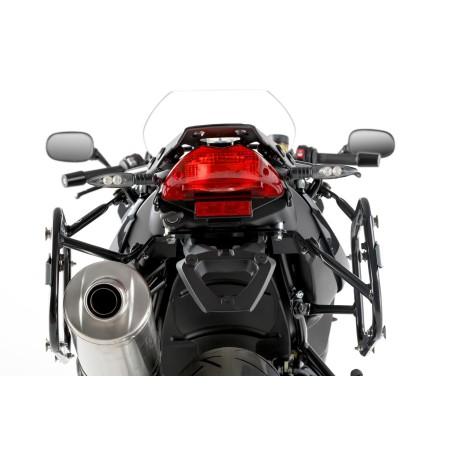 Support pour valise QUICK-LOCK EVO Noir. BMW F800 R 2009 et + / F800GT 2013 et +