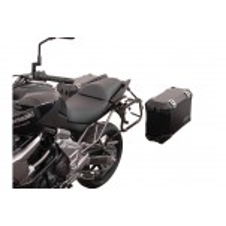 Support pour valise QUICK-LOCK EVO Noir. Kawasaki Versys 650 2007-2014