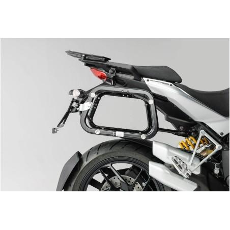 Support pour valise QUICK-LOCK EVO Noir. Ducati Multistrada 1200 / S 2010-2014