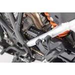 Extension pour protection de chaine Noir. KTM 1050/1190/1290 Adventure