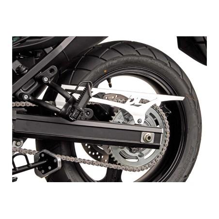 Protection de chaine Gris. Suzuki DL650V-Strom 2004 et + / DL1000 2014 et +