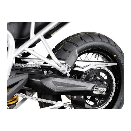 Protection de chaine Noir. Triumph Tiger 800 modèles 2010 et +
