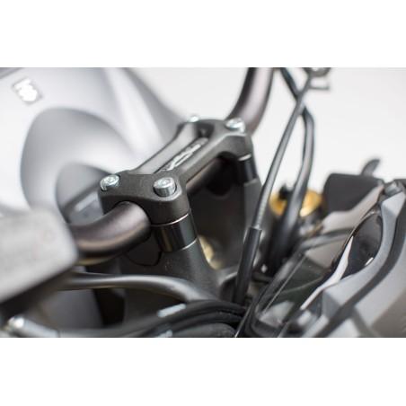 Rehausseur de guidon h20 mm Noir Suzuki GSX-S 1000 2015 et +