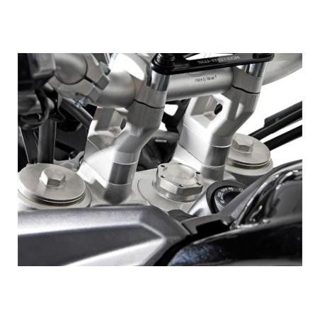 Rehausseur de guidon h20 mm Gris Triumph Tiger 800 / 1200 modèles