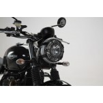 Protection de phare Noir Triumph Street Twin / Bonneville T120 / Thruxton 1200