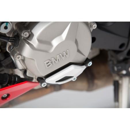 Protection de couvercle de carter moteur Noir/Gris BMW S1000R / RR / XR