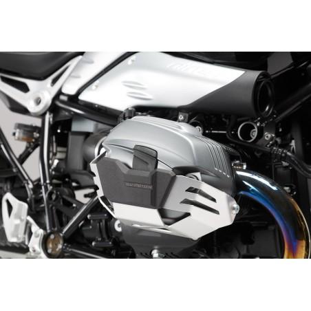 Protection de cylindre Gris Par paire BMW R1200 R / GS / Adventure / R NineT