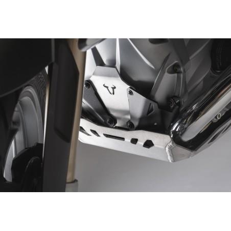 Extension avant de protection de moteur Noir/Gris BMW LC R-Modèles