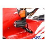 Support pour feux additionnels HAWK Noir Honda XRV 750 Africa Twin 1992-2003