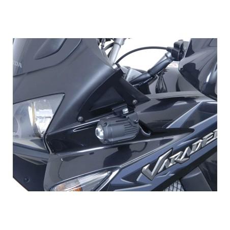 Support pour feux additionnels HAWK Noir Honda XL1000V Varadero 2001-2011