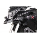 Support pour feux additionnels HAWK Noir Honda VFR 1200 X Crosstourer 2011 et +