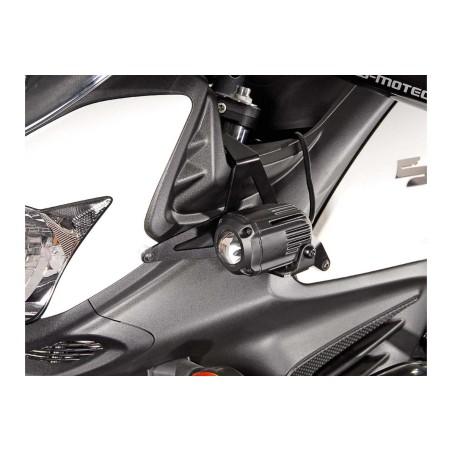 Support pour feux additionnels HAWK Noir Suzuki DL650 V-Strom 2011 et + / XT 2015 et +