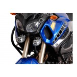 Support pour feux additionnels HAWK Noir Yamaha XT1200Z Super Tenere 2010-2013