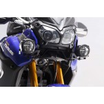Support pour feux additionnels HAWK Noir Yamaha XT1200Z Super Tenere 2013 et +