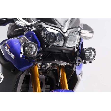 Support pour feux additionnels HAWK Noir Yamaha XT1200Z Super Tenere 2013 et +