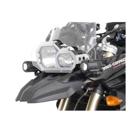 Support pour feux additionnels HAWK Noir BMW F 800 GS 08-12 / F 650 GS 07-11