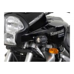 Support pour feux additionnels HAWK Noir Kawasaki Versys 650 2007-2009