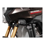 Support pour feux additionnels HAWK Noir Kawasaki Versys 1000 2012-2014