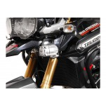 Support pour feux additionnels HAWK Noir Triumph Tiger 1200 Explorer 2012 et +
