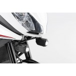 Support pour feux additionnels HAWK Noir Triumph Tiger 1050 Sport 2013 et +