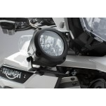 Support pour feux additionnels Noir. Triumph Tiger 1200 Explorer (16-).