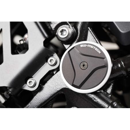 Kit de bouchon de cadre Noir BMW R 1200 GS LC / Adventure 2013 et + / R 1200 RT 2014 et +