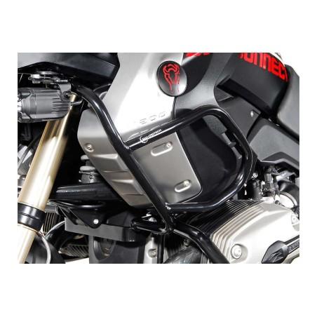 Barre de protection supérieure Noir BMW R 1200 GS 2008-2012 Pour Crashbars