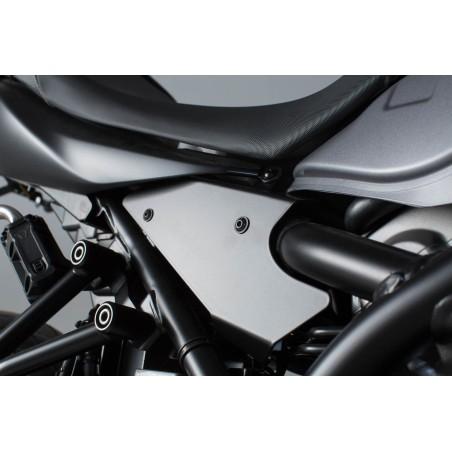 Caches pour cadre 3 pcs. Noir. Suzuki SV650 (15-).