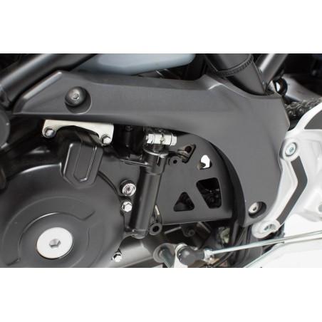 Carter de pignon de sortie de boite Noir. Suzuki SV650 ABS 2015